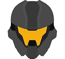 Halo Helmet Graphic Photographic Print