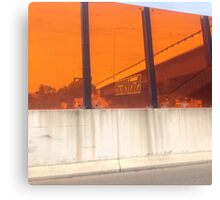 Tollway view Canvas Print