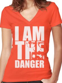I Am.. Women's Fitted V-Neck T-Shirt