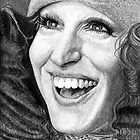Bette Midler @ www.KeithMcDowellArtist.com by © Keith McDowell, Artist