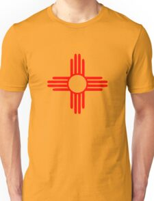 new mexico sun zia indian symbol Unisex T-Shirt