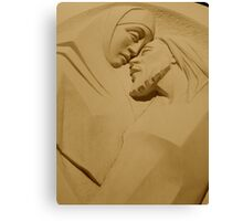 Mary and Jesus Canvas Print