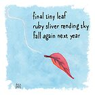 New Year Haiku 2014 by Amy-Elyse Neer