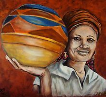 Pots For Sale, African Woman Collection by Susan Bergstrom