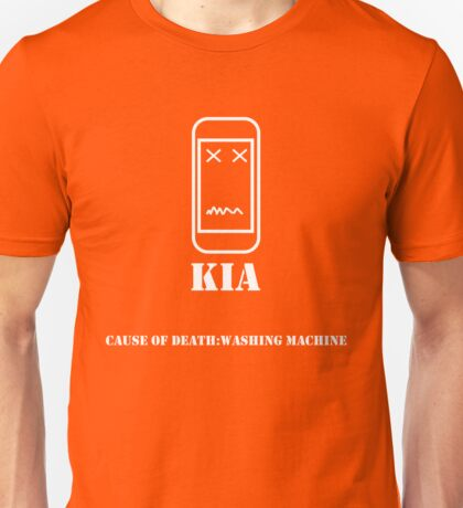 Phone KIA: Washing Machine Unisex T-Shirt