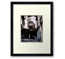 Surreal Demolition  Framed Print
