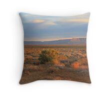 Sunset in Tankwa Throw Pillow