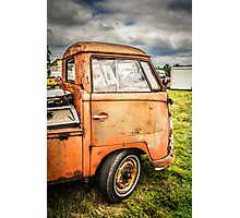 Rustic Single cab  Photographic Print