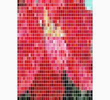 Mottled Red Poinsettia 2 Mosaic Unisex T-Shirt