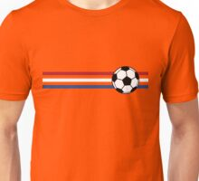 Football Stripes Netherlands Unisex T-Shirt