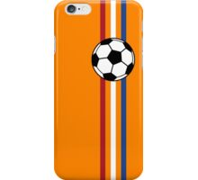 Football Stripes Netherlands iPhone Case/Skin