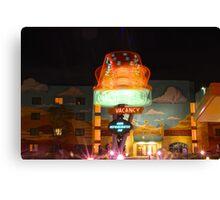 Dizzy Cone Motel Canvas Print