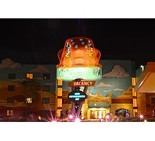 Dizzy Cone Motel Photographic Print