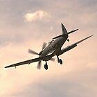 Spitfire LF Mk.XVIe  by Nigel Bangert