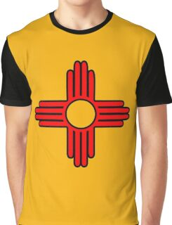 new mexico sun zia indian symbol Graphic T-Shirt