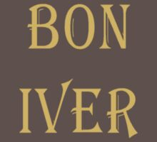 BON IVER  by positiver