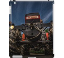 Tractor and Gas Station iPad Case/Skin