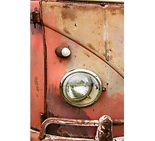 The Rustic Single Cab Photographic Print