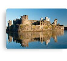 Caerphilly Castle Canvas Print