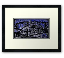 Along Wisconsin Avenue Framed Print