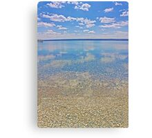 Clouds Over the Water Canvas Print