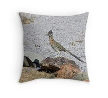 New Mexico Road Runner Throw Pillow