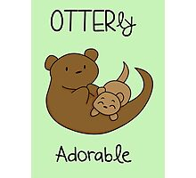 OTTERly Adorable!  Photographic Print