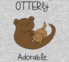 OTTERly Adorable! [Apparel & Transparent Stickers] One Piece - Long Sleeve