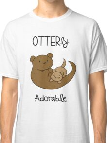 OTTERly Adorable! [Apparel & Transparent Stickers] Classic T-Shirt