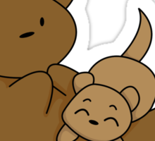 OTTERly Adorable! [Apparel & Transparent Stickers] Sticker