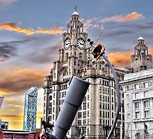 Liver Building Liverpool by Bob Edwards