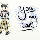 Eleventh Doctor Valentine by LadyElizabeth