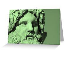 Nettuno Verde Greeting Card