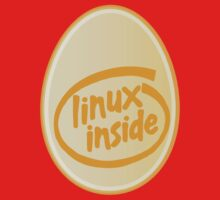 LINUX INSIDE Kids Tee