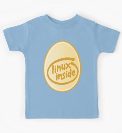 LINUX INSIDE Kids Tee