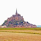 Le Mont St Michel, Normandy, France by Buckwhite