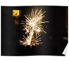 New Year's Fireworks 2014 Poster