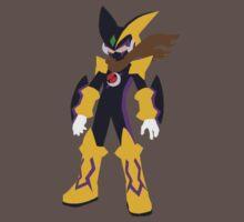 Megaman Bass-Cross Minimalist by ParadoxZeroe