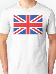 Lage British Flag Unisex T-Shirt