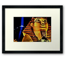 Luxor Light Framed Print