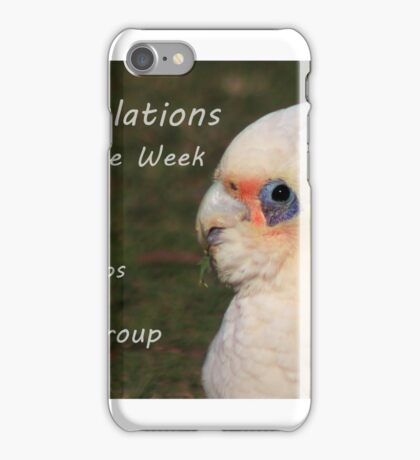 Banner Challenge iPhone Case/Skin
