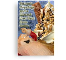 An Improvement over Milk and Cookies Canvas Print