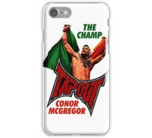 UFC CHAMP iPhone Case/Skin