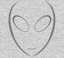 Alien 5 Grey Kids Clothes