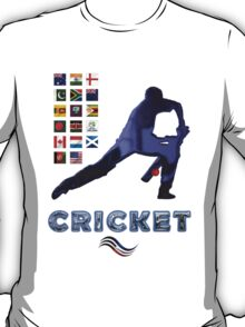 Cricket Team Squads Collectors T-Shirts sans Stickers T-Shirt