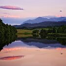 Calendonian Canal, Inverness, Scotland by Martina Cross