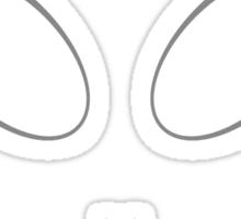 Alien 11 Grey Sticker