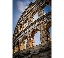 Amphitheatre in sunshine Photographic Print