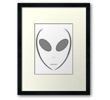 Alien 13 Grey Framed Print
