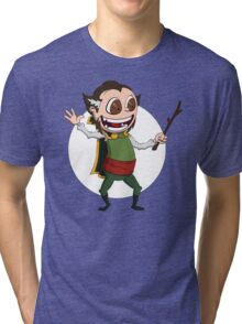 Ra's al Ghul contemplates Immortality Tri-blend T-Shirt